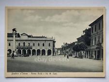 GRADISCA d' ISONZO via Ciotti Gorizia occupazione americana vecchia cartolina