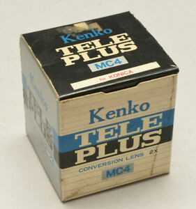 Kenko Teleplus MC4 -teleconversion Objectif X2 / Multiplicateur Focal Pour