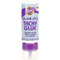 """Aleene's Always Ready Quick Dry Tacky Glue-4oz, Set Of 6"""