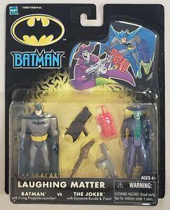 BATMAN LAUGHING MATTER BATMAN vs THE JOKER 2 PACK