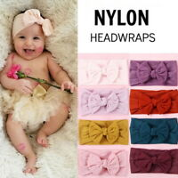 Baby  HEAD   Ribbon Elastic Headdress Kids Hair  Girl Bow Knot