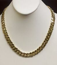 """18k Solid Gold Miami Cuban Curb Link 26"""" 11.75 mm 255 grams chain/Necklace MC350"""