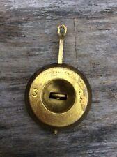 Antique Adjustable American Shelf Clock Pendulum, Ansonia?