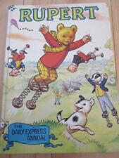 RUPERT THE DAILY EXPRESS ANNUAL 1982 GREAT BRITAIN GEMLIN KINGDOM BEAR BOOK HCB