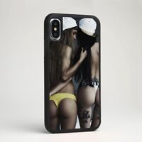Sexy Hot Girl Beauty Belle Allure Silicone Phone Case Cover for Samsung iPhone