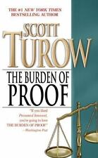 The Burden of Proof by Scott Turow (1991, Paperback, Reprint)
