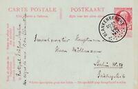 Postkaart verschickt von Blankenberghe nach Berlin aus dem Jahr 1911