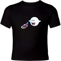 Nintendo Super Mario Boo Sport Tennis Unisex Men Women Funny Video Game T-Shirt