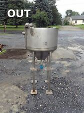 Northland Stainless 301 Stainless Steel 40 Gallon Jacketed Process Tank