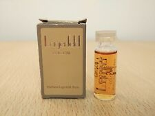 Karl Lagerfeld Classic Vintage 1st Series Cologne 5ml Perfume Miniature Mini New