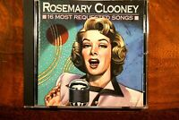 Rosemary Clooney - 16 Most Requested Songs   -  CD, VG
