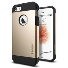 Spigen iPhone 5 / 5s / SE Tough Armor Dual Layer Gold Premium Case (041CS20252)