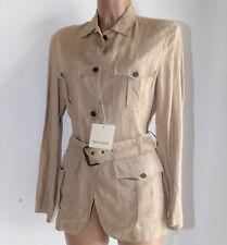 Giacca Henry Cotton's lino beige Taglia 44 donna