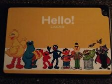 Sesame Street Characters Hello Hardcover Case Holder for Tablet IPad Brand New