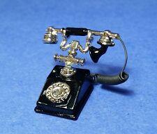 Miniature Dollhouse Phone 1:12 Scale New G8678