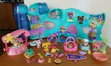 Littlest Pet Shop Little Lovin Pet Playhouse Playset COMPLETE With Extra Pets