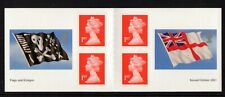 PM4 2001 Flags and Ensigns Retail Stamp Booklet MNH