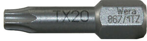 Original WERA Torsion Bits High Quality TORX PZ PH Bit 1/4""
