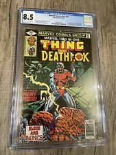 Marvel Two-in-One #54 CGC 8.5.1st appearance of Titania, 1st Grapplers Deathlok