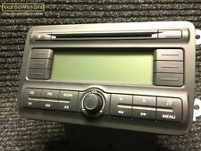 Skoda Fabia Roomster Radio Stereo CD Player Kopf Einheit 5J0035161 + Code