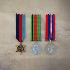 1939 - 45 STAR, DEFENCE + 1939-45 WAR MEDAL TRIO MEDAL SET | ANTIQUE | AUSTRALIA