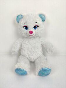 "Disney Build A Bear Frozen Fever Elsa Sparkling White 16"" Plush Stuffed Animal"