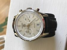 TAG HEUER CARRERA CV2115.FC6180 AUTO CHRONOGRAPH CLASSIC MOTHER OF PEARL WATCH.