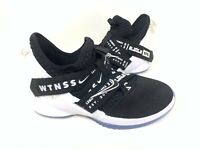 NEW! Nike Youth Boy's LeBron Soldier 12 Basketball Shoes Blk/Wht #AA1352 146L tz