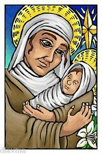 © ART - mother Virgin Mary and Baby Jesus Christ - Original Artist Print by Di
