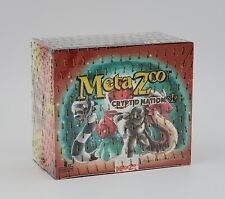 Metazoo Cryptid Nation 1st Edition Booster Box Factory Sealed In Hand!