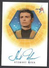 STAR TREK 35th ANNIVERSARY 2001 AUTOGRAPH CARD #A15 STEWART MOSS