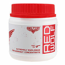 Red Wolf 180g Pre-Workout Booster Trainingsbooster Muskelaufbau Muskelpumpe