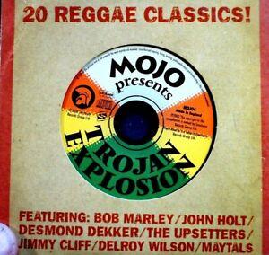 20 Reggae Classics! - Trojan Explosion -  CD, VG