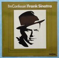 FRANK SINATRA ~ I'M CONFESSIN' ~ 1974 UK 11-TRACK MONO VINYL LP RECORD