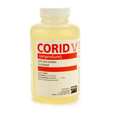 CORID 9.6% SOLUTION Amprolium Water-soluble Coccidiosis Prevention Cattle Pint