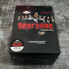 The Sopranos The Complete Series (DVD,30-Disc Box ) Fast shipping Priority Mail