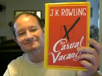 THE CASUAL VACANCY HARDBACK J.K.ROWLING (HARRY POTTER FAME) HOME BEDTIME READ