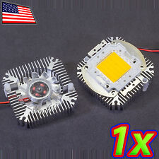 [1x] 5W to 10W Aluminum LED Thermal Heat Sink with Active Cooling Fan 12VDC 90mA