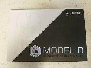 Glorious Model D Gaming Race Mouse GOM-Matte Black  Honeycomb Lightweight - 68g