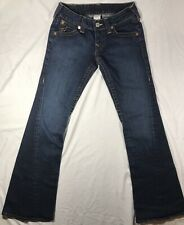 True Religion Flare Bellbottom Jeans Womens Size 28