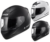 LS2  FF352 ROOKIE SOLID COLOUR FULL FACE LIGHTWEIGHT MOTORCYCLE CRASH HELMET