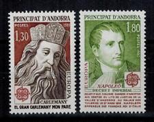 "(b8)  timbres d'Andorre Français n° 284/285 neufs** année 1980 ""europa"""