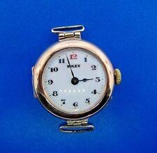 RARE Rolex 18k Rose Gold Pocket Watch Pendant w/Engraving