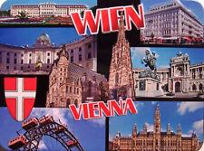 Wien Vienna Kühlschrankmagnet 3D Fridge Refrigerator Magnet 6 x 8 x 0,4 cm