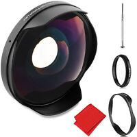 Opteka .3x Fisheye Lens for Canon and Sony 58mm Threaded Video Camera Camcorders