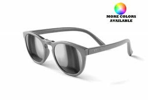 REKS Unbreakable Sunglasses Round Polarized Model - Select Your Color!