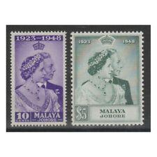 MALAYA JOHORE 1948 NOZZE 2 VAL MNH YVERT N108 -109 MF73175