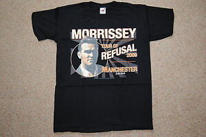 MORRISSEY TOUR OF REFUSAL 2009 MANCHESTER T SHIRT NEW OFFICIAL RARE THE SMITHS