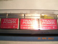 TEN 5-2411 DC/DC converter Traco Power in 18 to 36vdc out 5vdc 5w