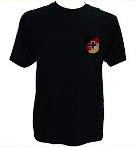 T-Shirt Reservisten schwarz,RK2,Verband der Reservisten,Reservistenverband,EK,BW